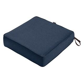 "Montlake FadeSafe Square Patio Lounge Seat Cushion - 25""Lx25""Wx5""H"