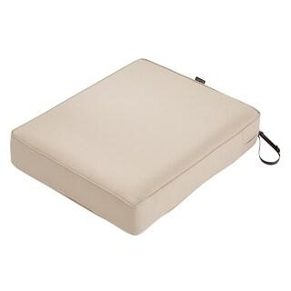 "Montlake FadeSafe Rec Patio Lounge Seat Cushion -25""Lx21""Wx5""H"