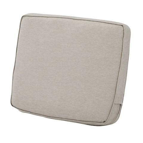 "Montlake FadeSafe Patio Lounge Back Cushion - 25""L x 4""W x 22""H"