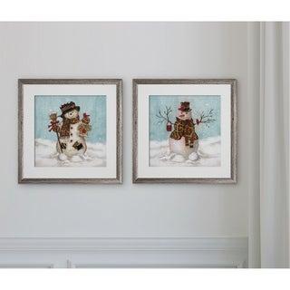 Snow Men -2 Piece Set