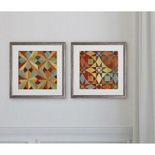 Kaleidoscope Quilt -2 Piece Set