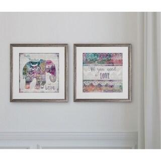 Boho Elephant -2 Piece Set