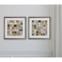 Metallic Mosaic -2 Piece Set