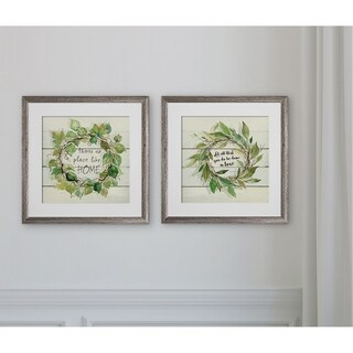 Aspen Wreath -2 Piece Set
