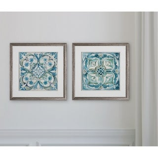 Carribean Tile -2 Piece Set