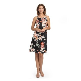 Bluberry Women's Laurie Floral Strap dress
