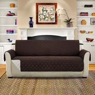 H.Versailtex Microsuede Crafted Sofa Cover
