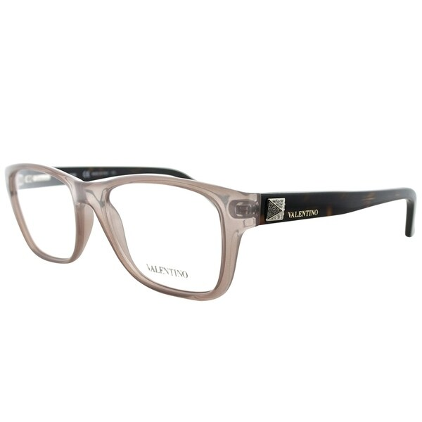 Shop Valentino Rectangle V2696R 290 Women Nude Frame Eyeglasses ...