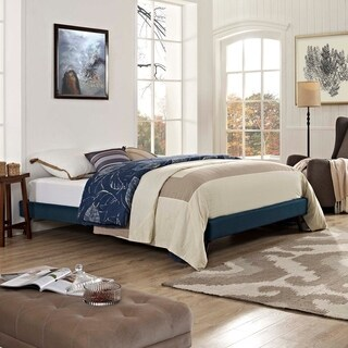 Loryn Full Bed Frame with Round Splayed Legs
