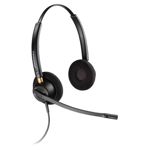 Plantronics Over-the-head Binaural Corded Headset