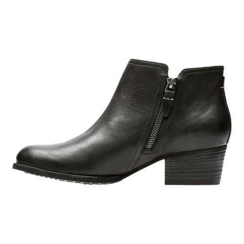 CLARKS Maypearl Ramie Leather Ankle Boots sale extremely lowest price for sale 9LtOZAj7Jm