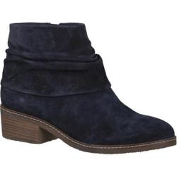 Women's Tamaris Kathryn Ankle Boot Navy Leather
