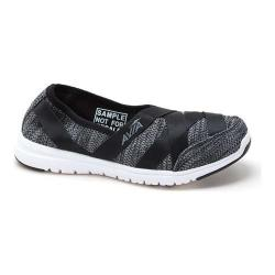 Women's Avia Avi-Aura Slip-On Shoe Black/Iron Grey