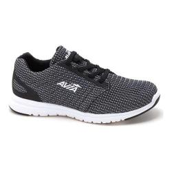Women's Avia AVI-Kismet Running Shoe Black/Frost Grey/White