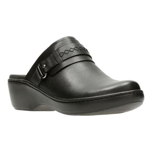 Clarks Leather Lightweight Slip-on Clogs - Delana Amber clearance footlocker online cheap online find great cheap online VCdoLaP