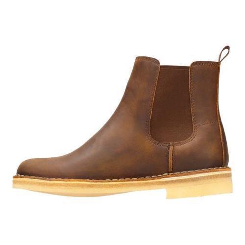 8df396795f8 Women's Clarks Desert Peak Chelsea Boot Beeswax Leather