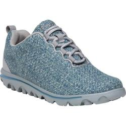 Women's Propet TravelActiv Woven Sneaker Denim/Grey Mesh