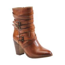 Women's Diba True Just In Bootie Cognac Leather