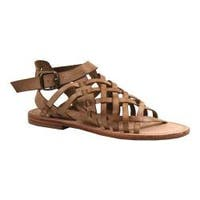 Women's Diba True River Run Gladiator Sandal Cognac Leather