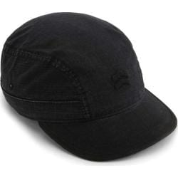 Men's A Kurtz Slope-Front Military Cap Black