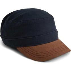 Men's A Kurtz Suede Military Legion Cap Infantry Blue