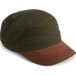 Men's A Kurtz Suede Military Legion Cap Olive Drab