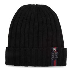 Men's Ben Sherman Wide Rib Beanie Caviar