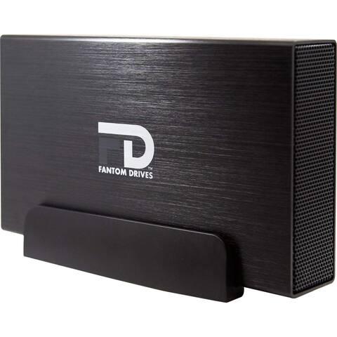 Fantom Drives 5TB External Hard Drive - 7200RPM USB 3.0/3.1 Gen 1 + eSATA + FireWire 800/400 Aluminum Case - Mac, Windows, PS4,