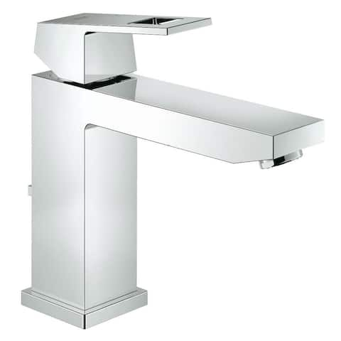 Grohe Eurocube M-Size Bathroom Faucet with Arc, Swivel Spout
