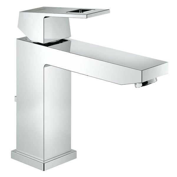 Shop Grohe Eurocube SingleHandle Bathroom Faucet MSize - Grohe bathroom fixtures