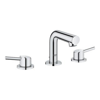 "Grohe Concetto 8"" Widespread Two-Handle Bathroom Faucet 20572001 StarLight Chrome"