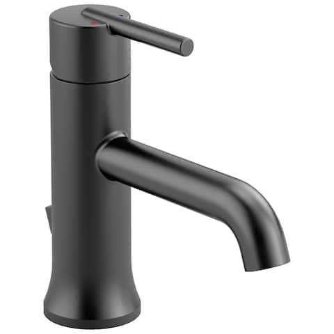 Delta Trinsic Single Handle Lavatory Faucet 559LF-BLMPU Matte Black