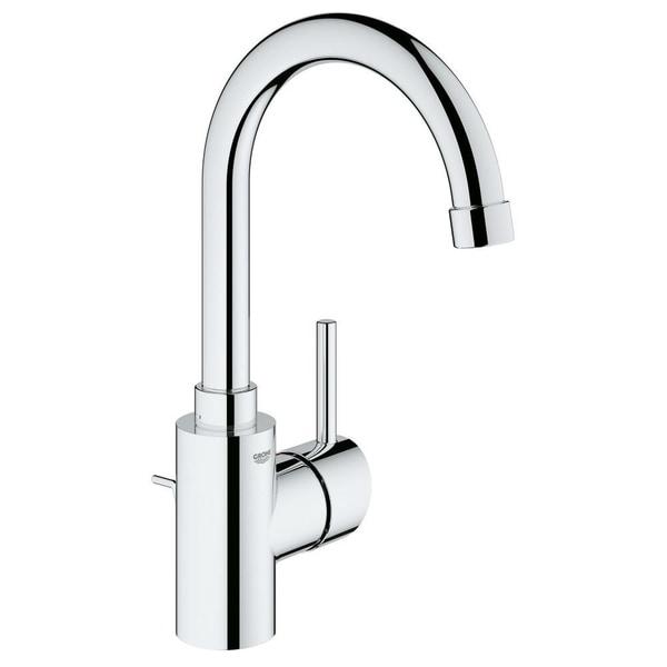 Merveilleux Grohe Concetto Single Handle Bathroom Faucet L Size 3213800A StarLight  Chrome