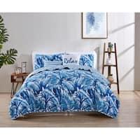 VCNY Home Sandy Reversible Leaf Quilt Set