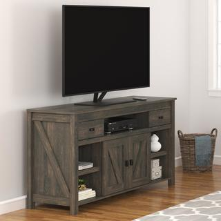 Avenue Greene Becken Ridge Weathered Oak 60 Inch TV Stand