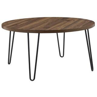 Avenue Greene Isaac Retro Round Coffee Table