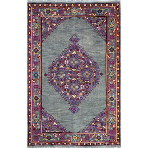 Petra Transitional Hand Knotted Area Rug