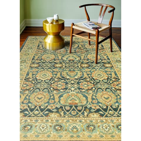 Briston Traditional Machine Made Area Rug
