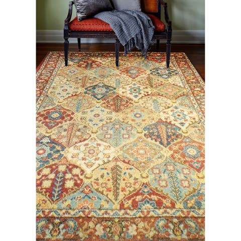 Oxford Traditional Machine Made Area Rug