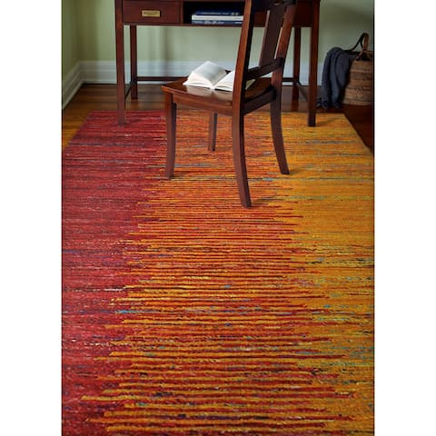 Sloane Contemporary Hand Woven Area Rug