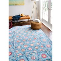 Gus Area Rug - Blue
