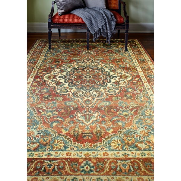 Cromwell Traditional Machine Made Area Rug. Opens flyout.