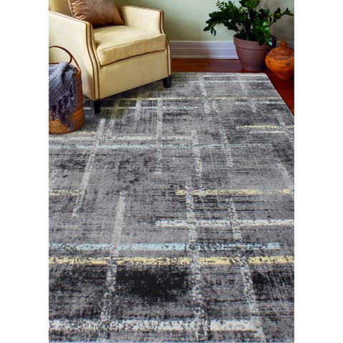Nellie Transitional Machine Made Area Rug
