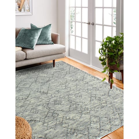 Yasmine Transitional Hand Knotted Area Rug