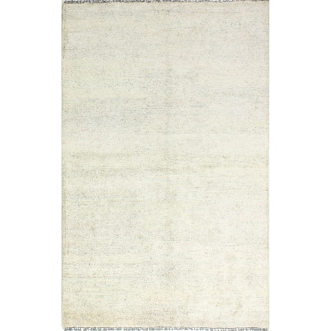 Bond Contemporary Hand Knotted Area Rug