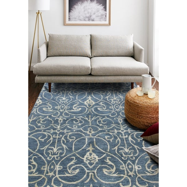 Peyton Transitional Hand Tufted Area Rug. Opens flyout.