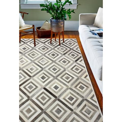 Baldwin Contemporary Hand Stitched Area Rug