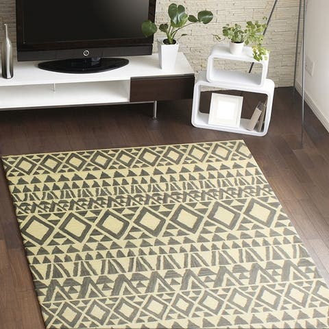 Maplewood Contemporary Hand Tufted Area Rug