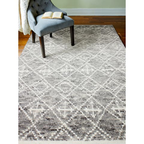Jenny Transitional Hand Knotted Area Rug