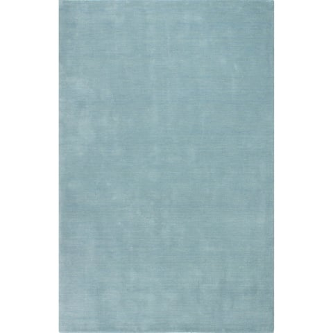Calabasas Blue Hand Loomed Contemporary Area